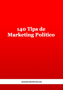 140 tips de marketing político